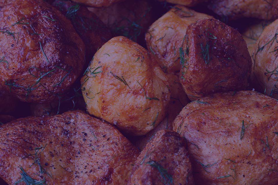 JuJu Royal - Rosemary Baked Potatoes