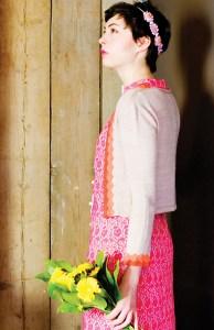 Onda Cardigan photographed for Pom Pom Autumn 2012
