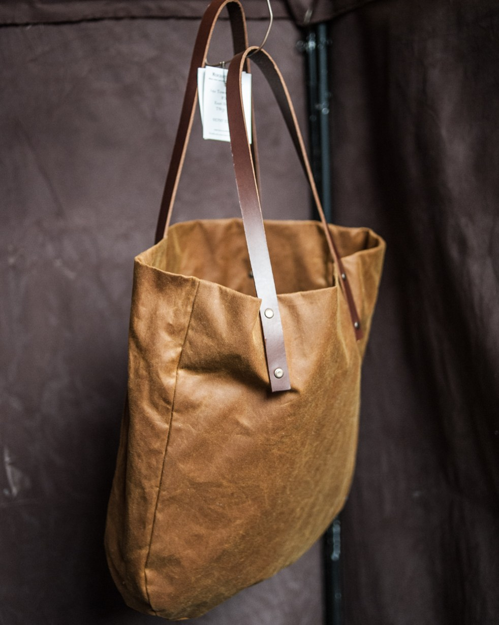 Oilskin Tote by Merchant And Mills