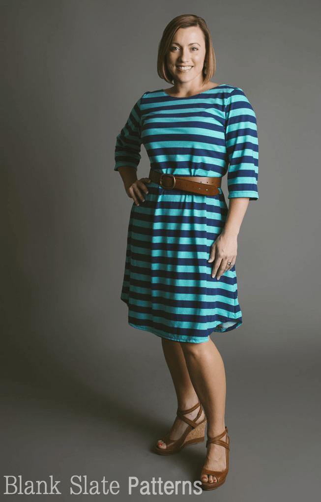 Blank Slate Boatneck dress