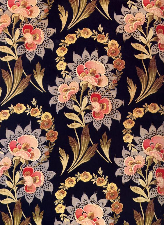 Russian Textile Print