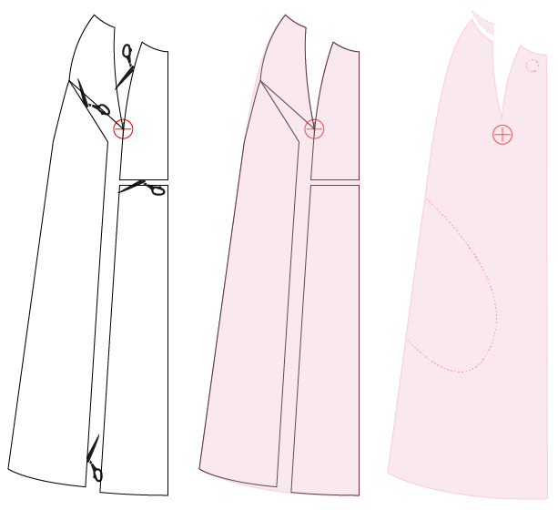 Pilva coat adjustments