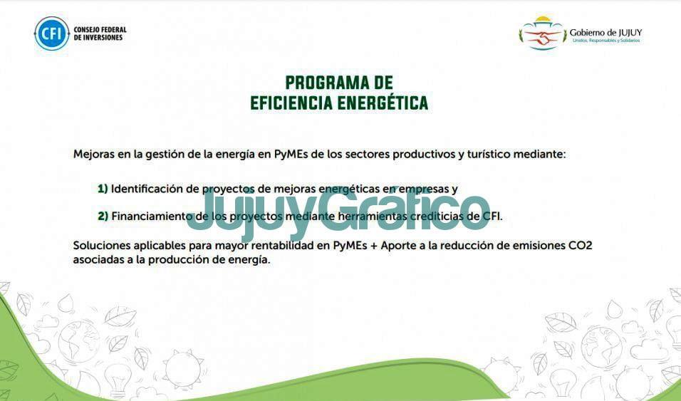 objetivos del programa eficiencia energetica