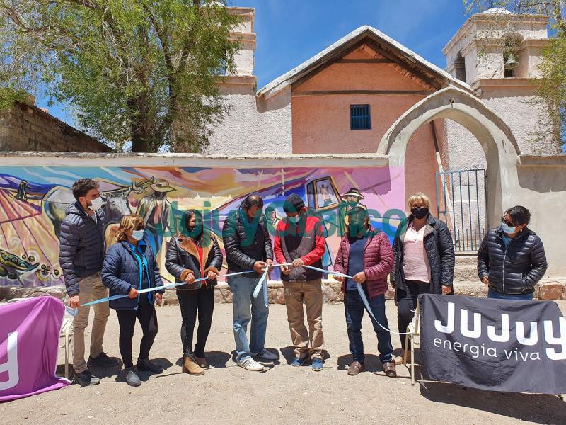 Inauguracion del Corredor de Murales del Zenta en Humahuaca 4