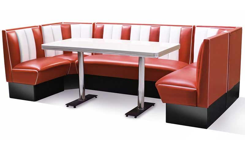 vente de mobilier style diner bel air