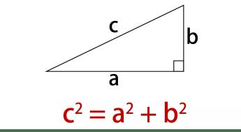 「三平方の定理」の画像検索結果