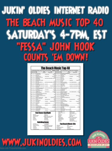 695X900 Beach Music Top 40 Sat 4-7 pm