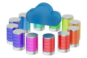 Database computing storage concept