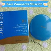 Review: Base Compacta Shiseido com Proteção Solar