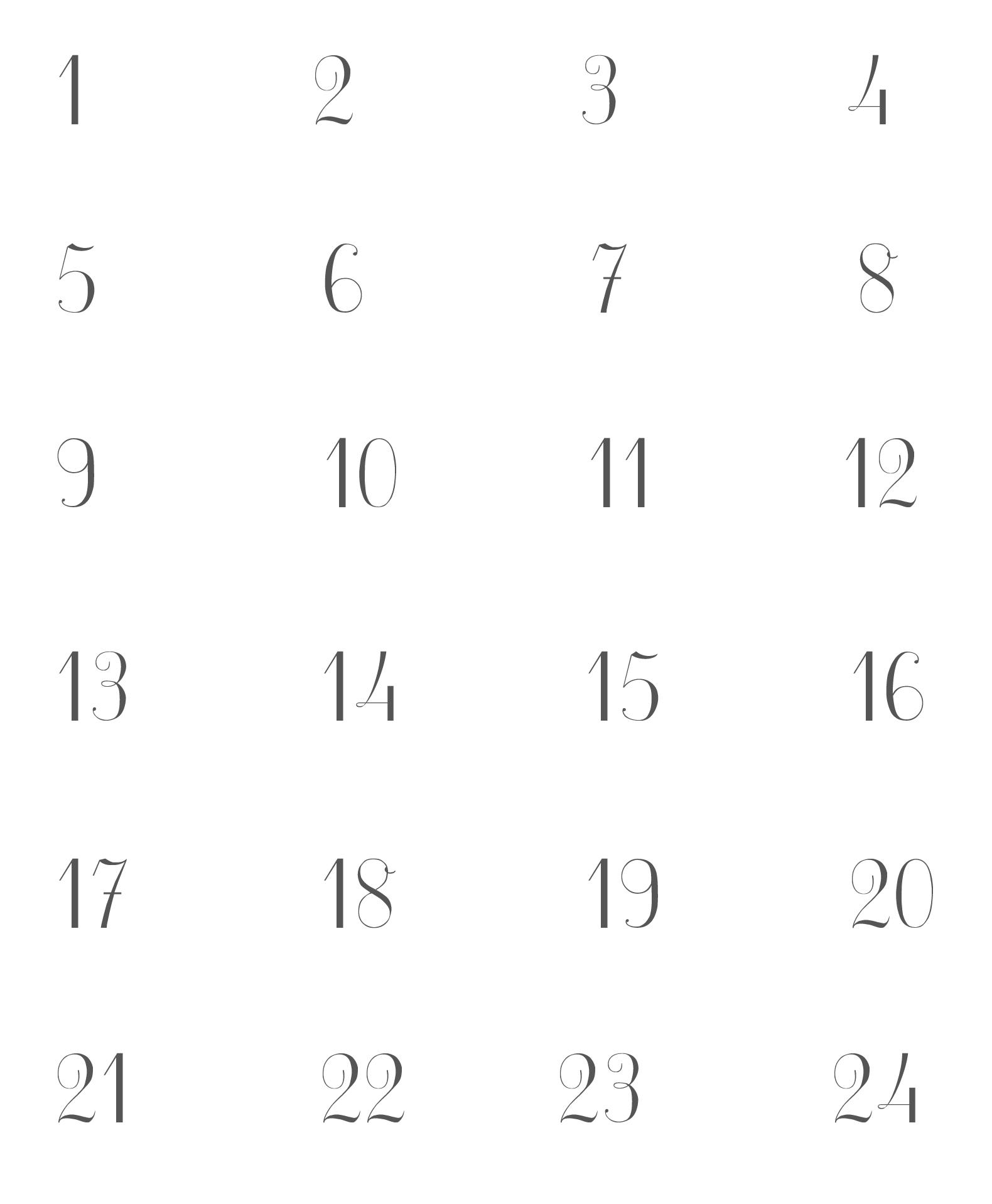Diy Advent Calendar And Printables