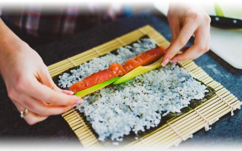 sushi julegave, gave til sushi elskeren, gve med sushi