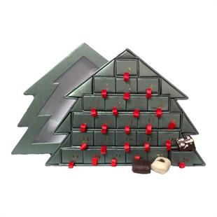 økologisk julekalender, økologisk chokolade julekalender, julekalender med økologisk chokolade