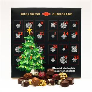 økologisk julekalender, økologisk chokolade julekalender, julekalender med økologisk chokolade, økologisk julekalender, julekalender med chokolade