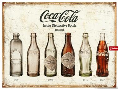 retro skilte, coca cola skilte, emalje skilte,