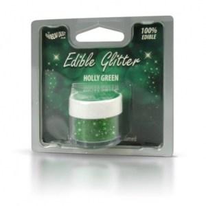 glimmer til julekonfekten, glimmer til kager, spiseligt glimmer til kager, spiseligt glimmer til julekonfekten, grøn glimmer, spiseligt grøn glimmer, spiseligt glimmer til julekagerne,