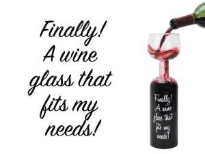 Vinglas-vinflaske