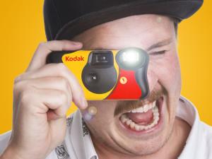 Kodak-engangskamera