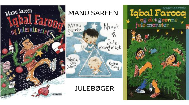 manu sareen bøger, manu sareen julebøger, manu sareen børnebøger, manu sareen julefortælleringer, bøger af manu sareen, julehistorier manu sareen, julefortællinger af manu sareen,