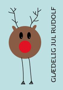 print-selv-julekort-rensdyr