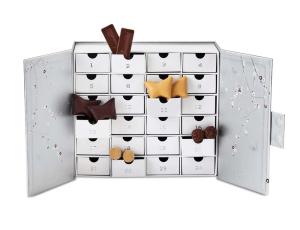 Summerbird julekalender, økologisk chokolade julekalender, julekalender med økologisk chokolade, chokolade julekalender til voksne