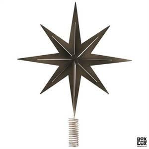 juletræsstjerne, topstjerne, stjerne til juletræet, julestjerne, juletræsstjerne i sølv, H C Andernse juletræsstjerne