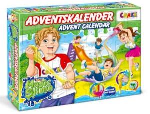 slim julekalender, julekalender med slim, legetøjsjulekalender, anderledes julekalender til børn