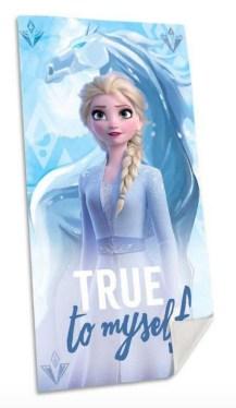 Håndklæde med Frost, Håndklæde med Frost 2, Frost 2 håndklæde, gave til 2-årige piger, Gaver til 2-årige piger