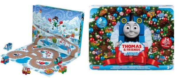 Thomas Tog Julekalender, julekalender med Thomas Tog, julekalender til børn, julekalender til de mindste, kønsneutral julekalender, juleklaender til både piger og drenge
