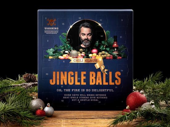 Chili Klaus Julekalender, Chili Klaus Julekalender med chokolade, Julekalender til voksne, Julekalender 2021, julekalender Chili Klaus