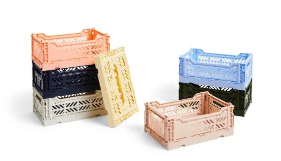 Hay foldekasser, plastikkasser fra Hay, Hay kasser, plastik kasser fra Hay
