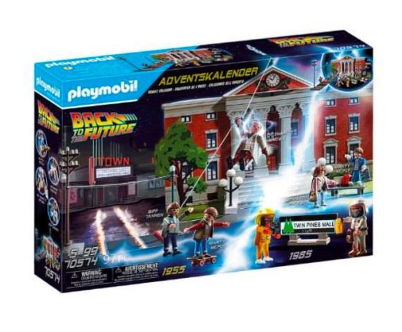 Tilbage til fremtiden playmobil, Julekalender Tilbage til fremtiden playmobil, Julekalender med Playmobil, Julekalender til drenge 2021, 2022 julekalender til drenge, TIlbage til fremtiden julekalender fra Playmobil