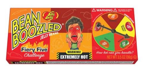 Bean Boozled Flaming Five Jelly Beans, Bean Boozled Flaming Five Jelly Belly, jelly belly spil, stærke jelly beans, jelly beans spil, Jelly beans slik, Jelly Belly slik