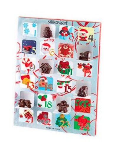 Kreativ julekalender, lav selv chokolade julekalender, julekalendere med kreativ indhold, kreative julekalendere til voksne, lav din egen chokolade julekalender