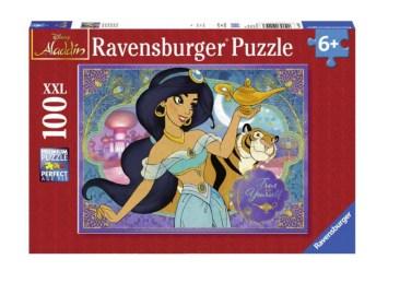 Aladin puslespil, puslespil til børn, gaver til børn under 100 kr, puslespil med Disney prinsesse