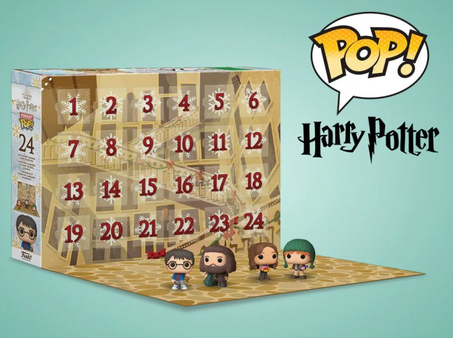 Funko pop Harry Potter julekalender, Pophead Harry Potter, Harry potter julekalender, julekalender harry potter, julekalender til piger, julekalender til drenge, julekalender med harry potter 2021,