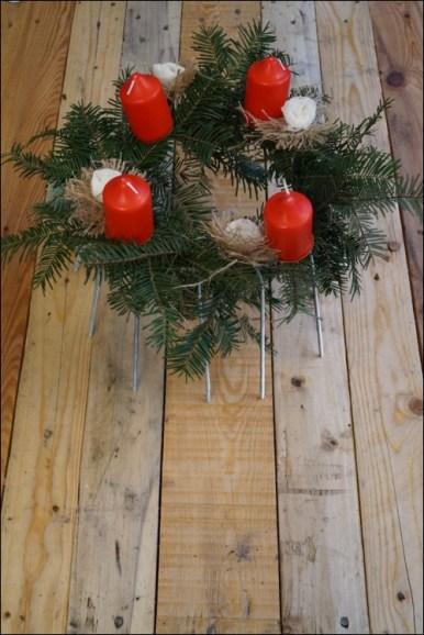 Adventskranz, christmas, DIY Adventskranz, DIY at christmas, DIY Weihnachten, Adventzeit basteln