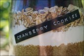 Backmischung selber machen, Cranberry-Cookies Backmischung, Cranberry-Cookies Rezept, Cranberry-Cookies selber machen, DIY Muttertagsgeschenk, Frollein Pfau, Geschenk für Freundin selber machen, Muttertagsgeschenk selber machen