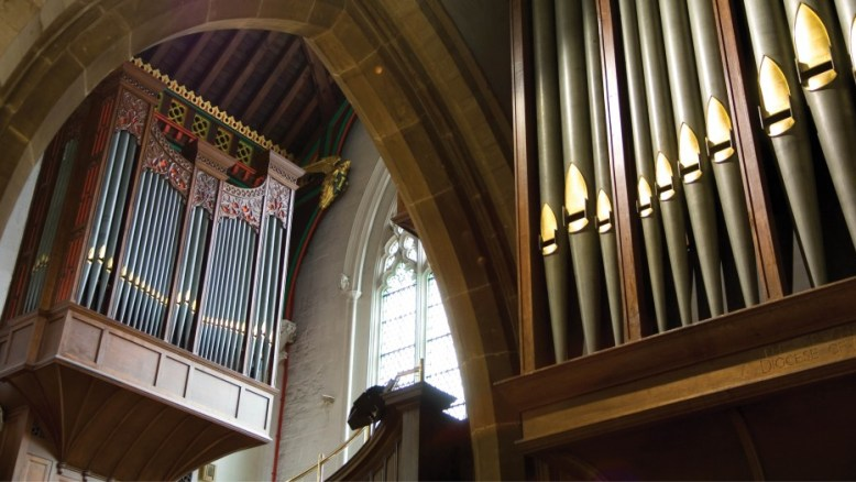Leicester cathedral organ