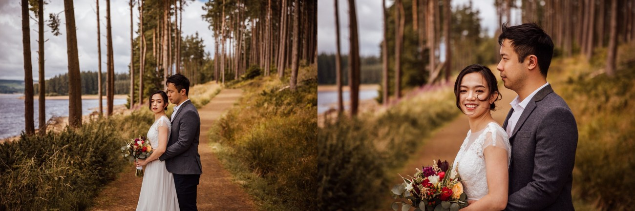 Elopement photography chinese uk