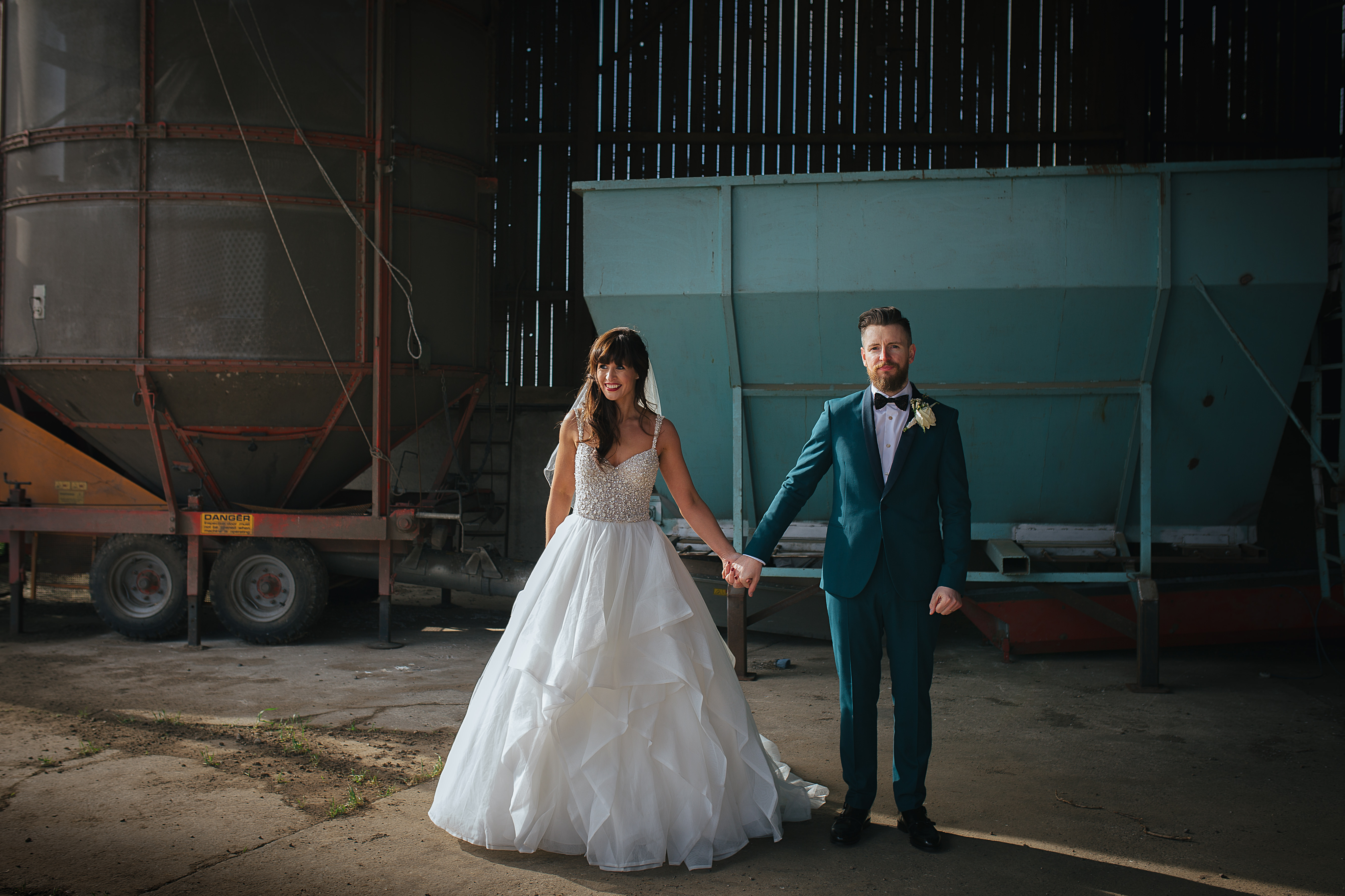 Bride and groom the Normans 2019
