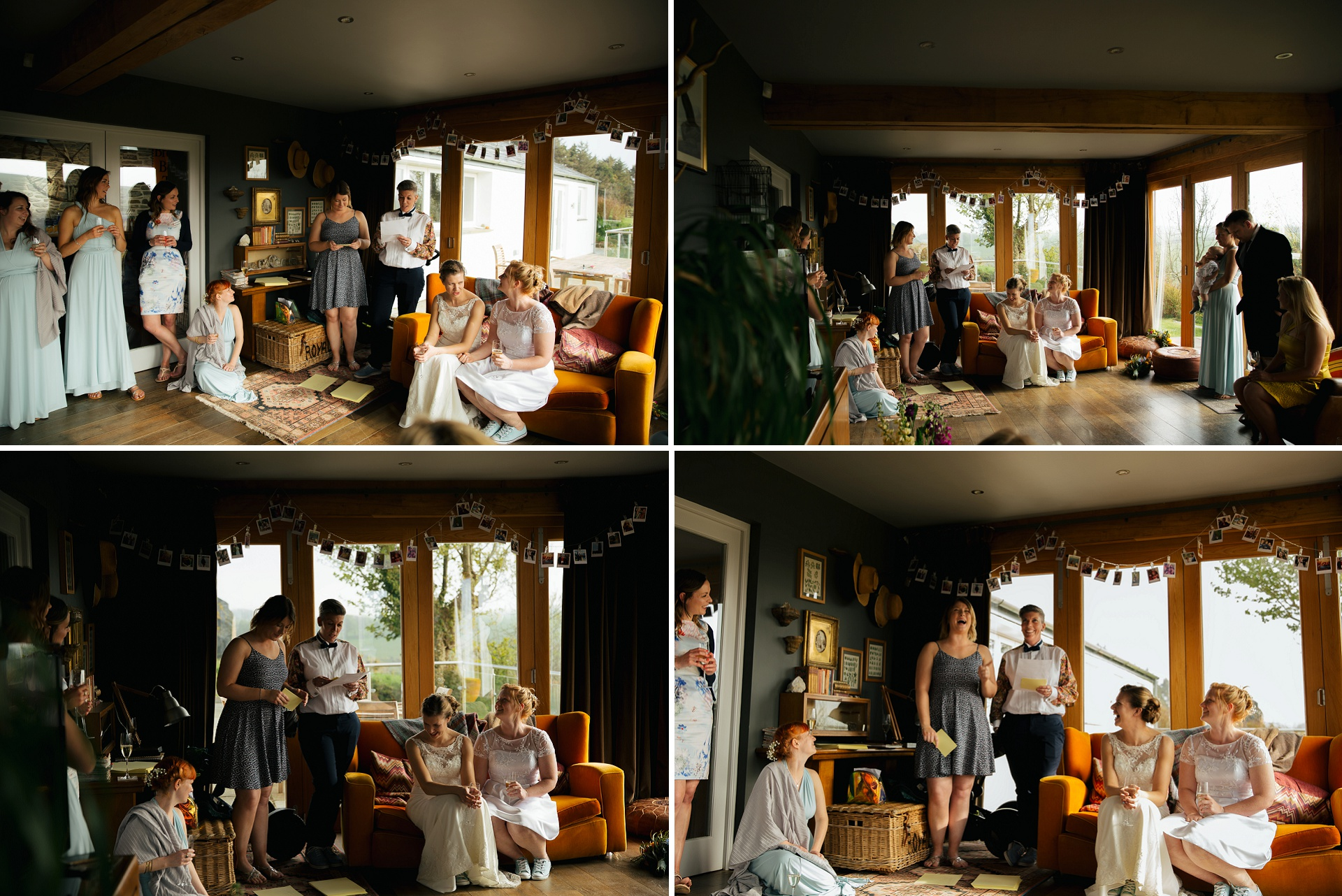 Tregulland and co wedding