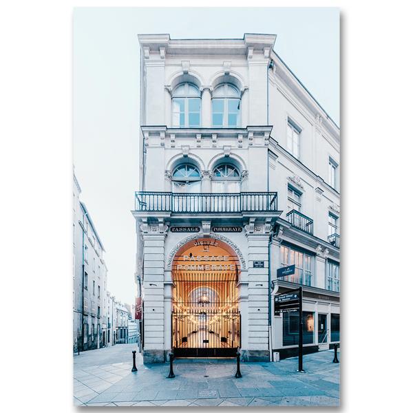 Le Passage Pommeraye IV à Nantes par Yvon HAZE
