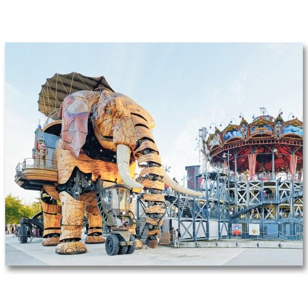 L'Elephant de Nantes par Yvon HAZE