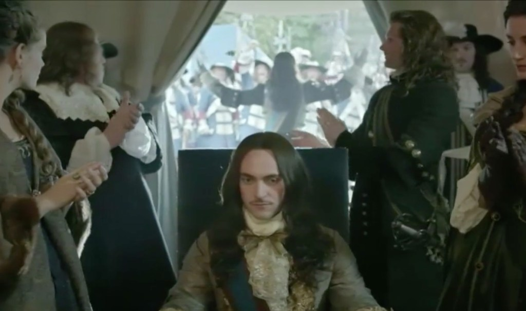 The one with the glorious return, the victory party and Philippe going off the rails - Versailles episode 5