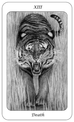 Tarot Card 13 - Death - Boswell - julesknowlton