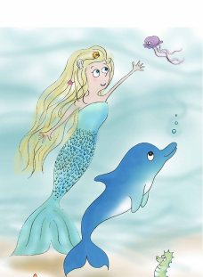 mermaid-and-dolphin