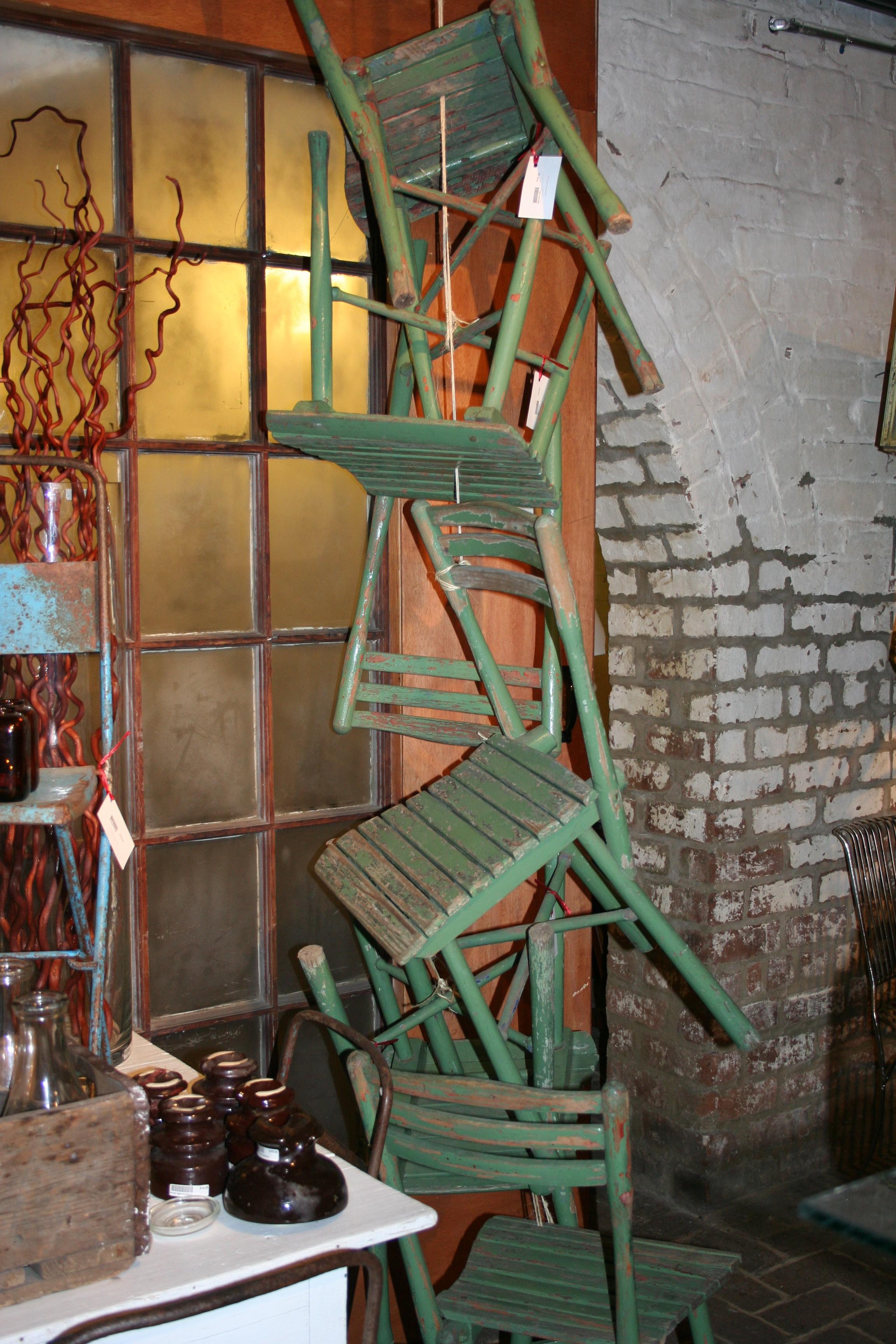Display inside Paris Brocante