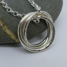 Eco-Silver Trinity Pendant