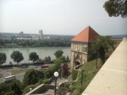 View of the River Danube from the castle