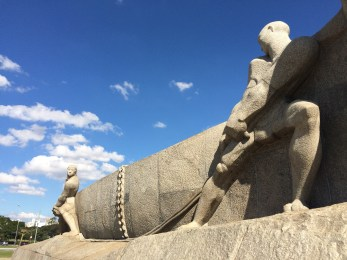 You won't see the Monumento às Bandeiras in most city guides, but it's well worth a visit. This impressive granite sculpture depicts the 'bandeirantes', the settlers that explored the interior of Brazil